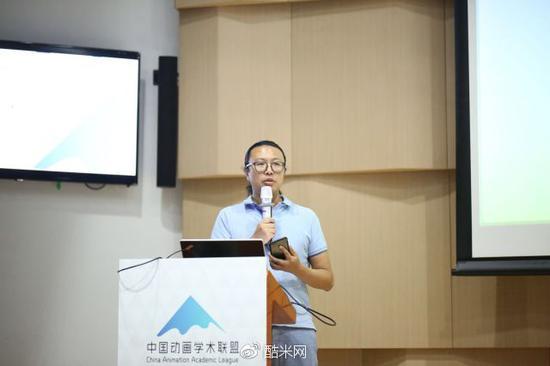 南京艺术学院传媒学院副院长薛峰发言